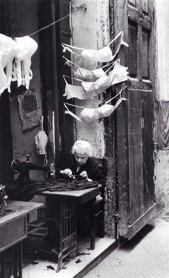 Napoli 1957 By David Seymour