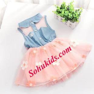 váy cách điệu cho bé xinh hơn