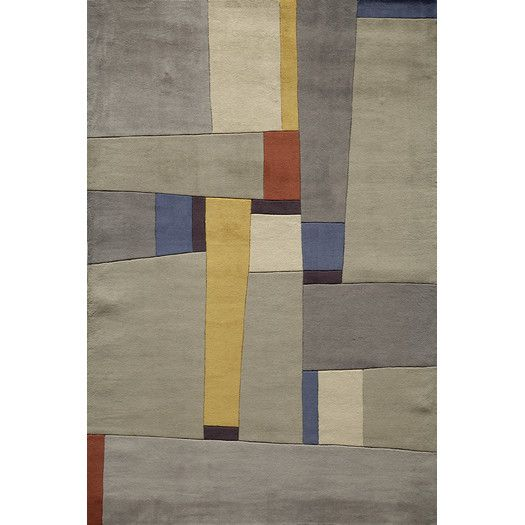Found it at AllModern - New Wave Grey Area Rug