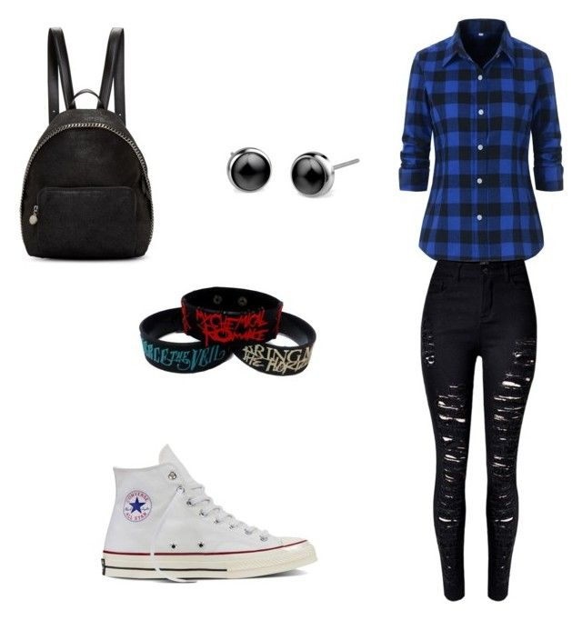 """Sans titre #17"" by dobrodod on Polyvore featuring mode, Converse et STELLA McCARTNEY"