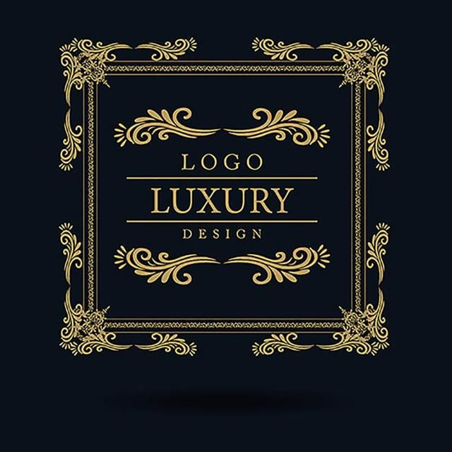 Luxury Label Letter, Royal, Crest, Vip PNG And Vector With