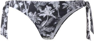#Roxy #KNOTTED #MINI #Bikini #Hosen #Damen #schwarz/weiß -