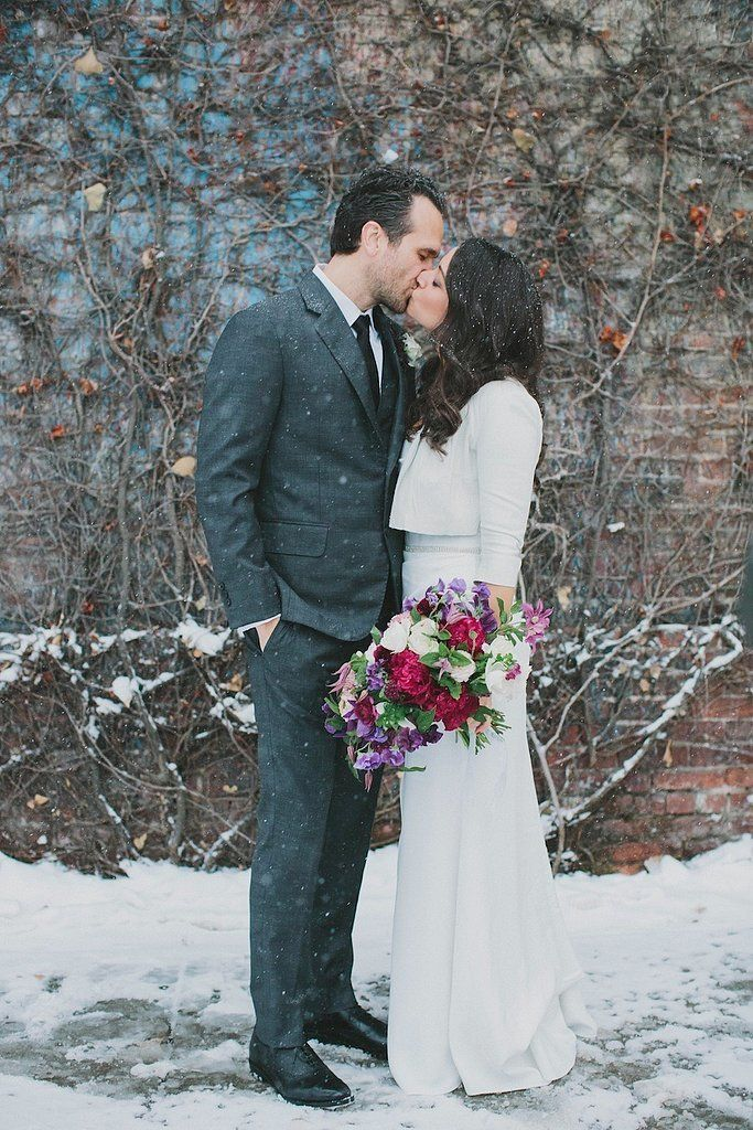 17 Stylish Reasons to Have a Winter Wedding: There is perhaps no visual as stunning as a bride walking through the snow in her gown — and we have the photos to prove it.