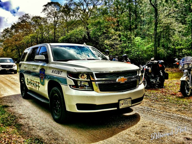 https://flic.kr/p/RUckmA | Caroline County (MD) sheriff's vehicle | Chevy Tahoe from the sheriff's department in Caroline County (Maryland's eastern shore).