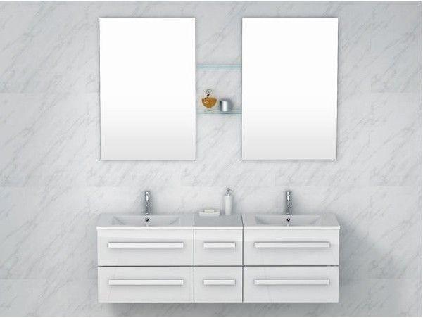 € 530,- Lambini designs EXTRA badmeubel 150cm. Waar de naam 'Extra' voor staat is overduidelijk. Dit meubel is maar lieft 150cm breed en heeft daarom EXTRA veel opslagruimte. De onderkast is gemaakt van hoogwaardig MDF. Dit is gelamineerd waardoor het water afstotend is en niet kan verkleuren. De lades zijn allemaal voorzien van softclose sluiting. #badkamer #meubel #XXL #extra #groot #mega #wit