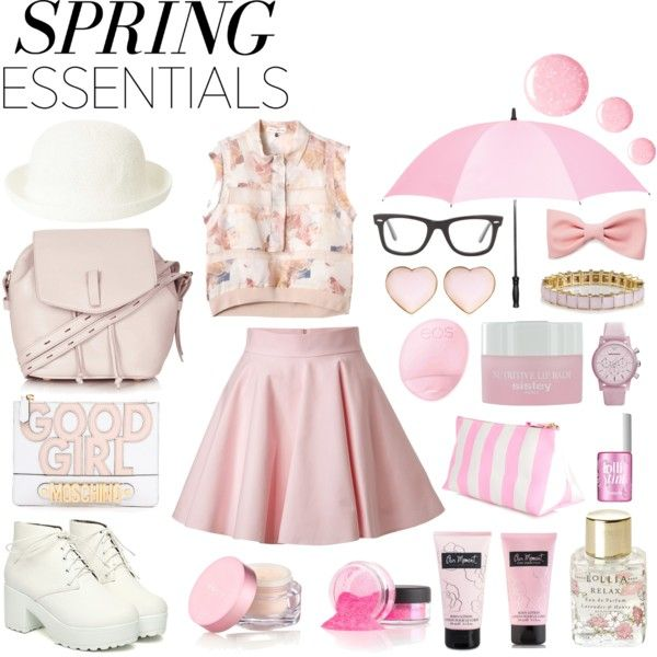 """Baby pink"" by michellezee on Polyvore"