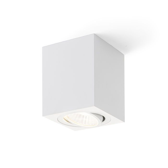 MAYO SQUARE | rendl light studio | Cubical surface mounted spotlight with a 9W CREE LED light source. Supplied with a driver. #lights #office #interior #LED