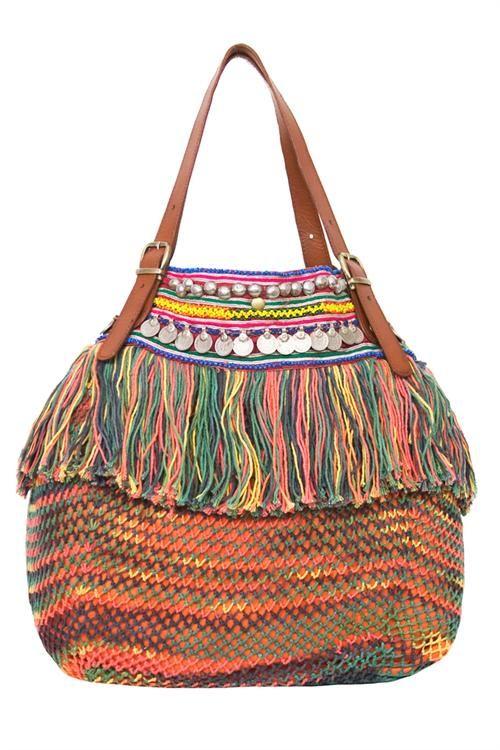 ☮ American Hippie Bohéme Boho Style ☮ Gypsy Bag