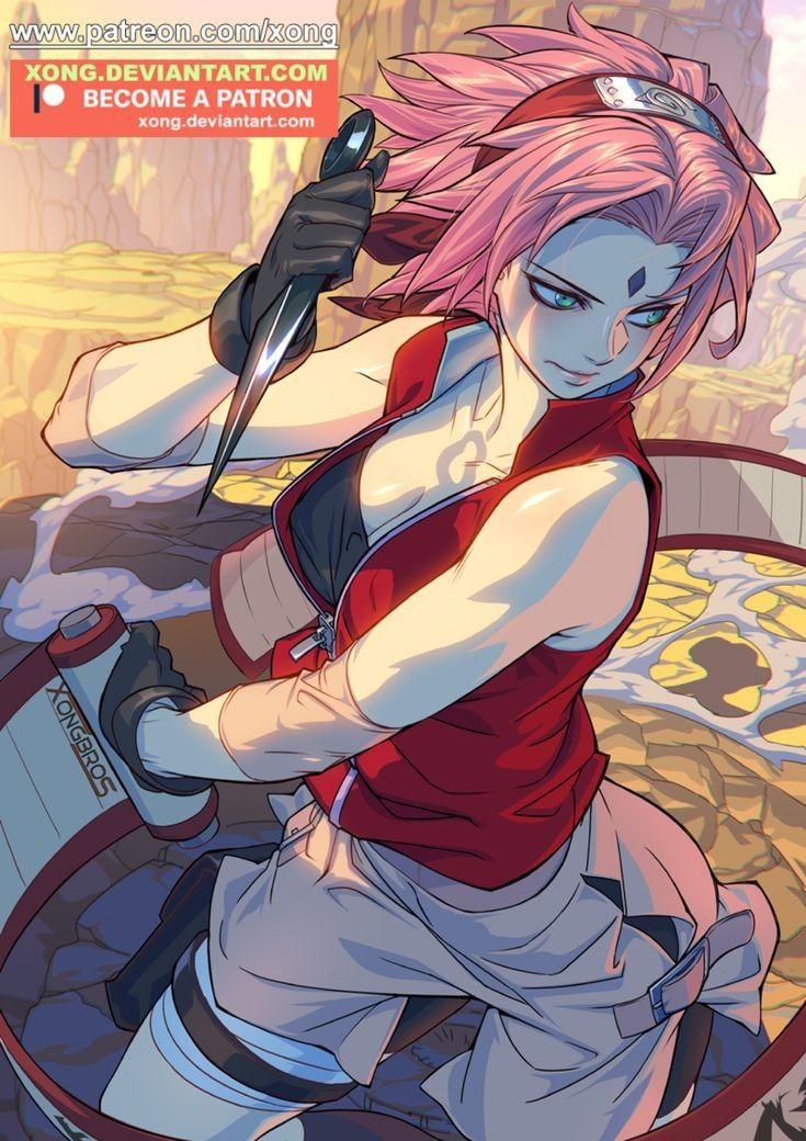 Veja imagens da Sakura do anime Naruto uma personagem