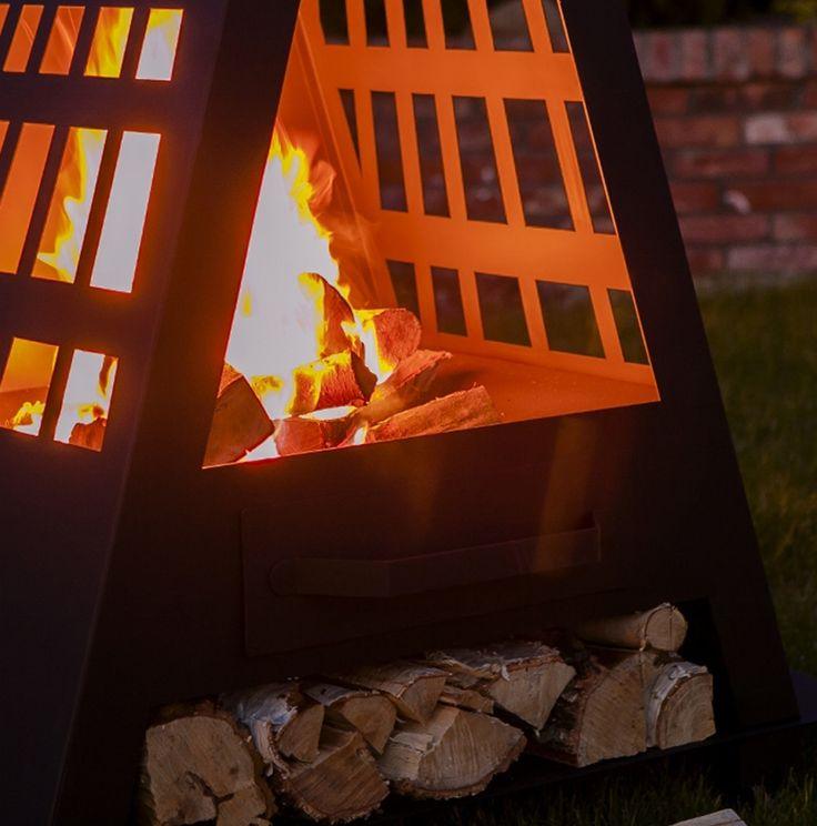 Feu de cheminée outdoor