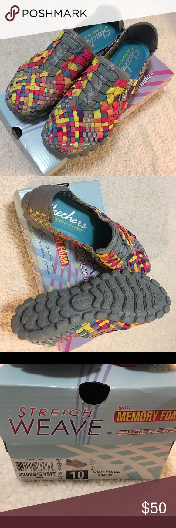 Brand New Sketchers shoes  This is a pair of brand new ladies shoes. Size 10. Vary colors. Open for an offer Skechers Shoes Athletic Shoes
