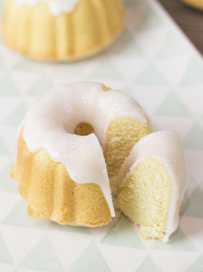 Mini bundt cakes de cava