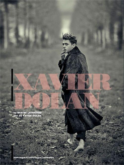 Maison Motion | 頹美性感 Xavier Dolan登上義大利VOGUE封面