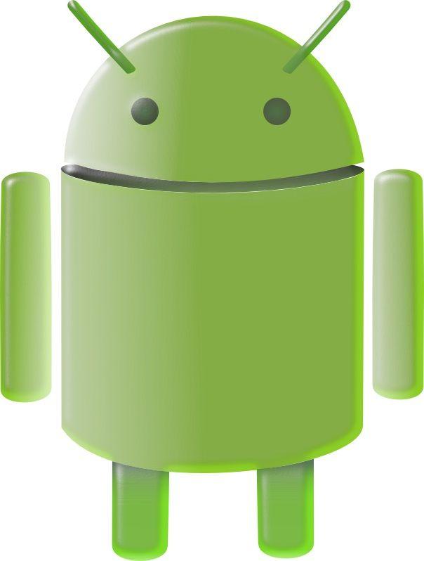 Símbol d'android fet amb el programa Inkscape. No està copiat.