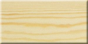 Solid pine with clear Lacquer.