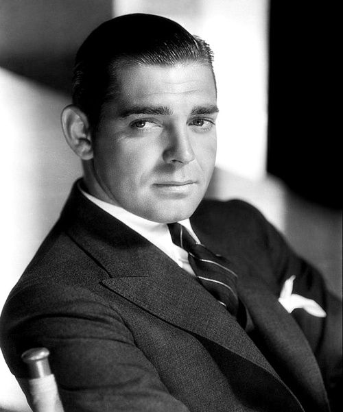 Clark Gable - minus the moustache!  Without the moustache, Nick Clooney and he look a lot alike!