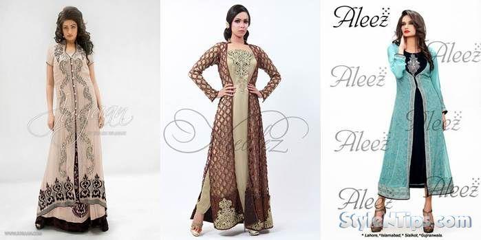 Fancy Dresses For Pakistani Girls on Eid 2015