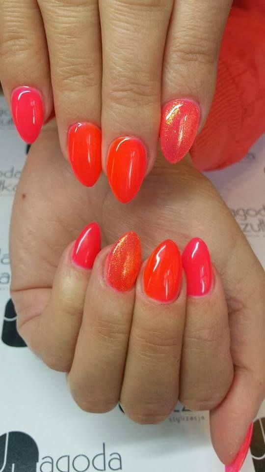 efekt syrenki, orange, summer