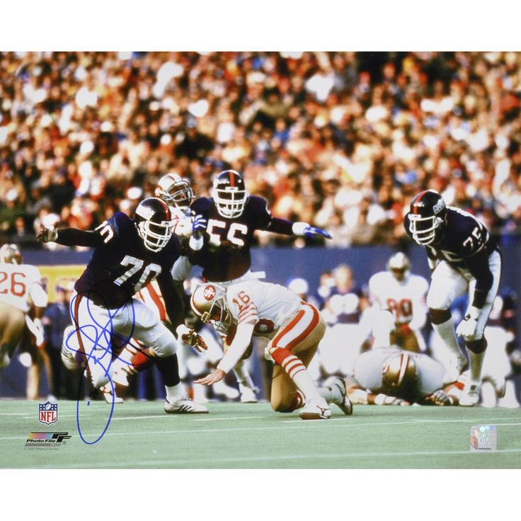 "Leonard Marshall New York Giants Fanatics Authentic Autographed 16"" x 20"" vs. San Francisco 49ers Photograph"