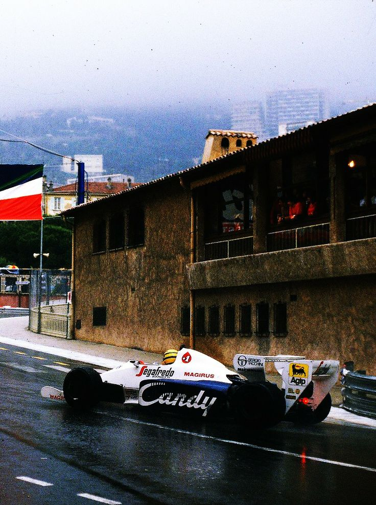 Ayrton Senna GP Monaco 1984