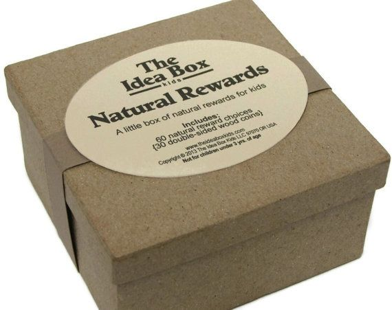 """Natural Rewards by theideaboxkids. Natural, positive, non-monetary rewards for your child. Say """"No!"""" to the trinkets & toys system!  $16.99"""