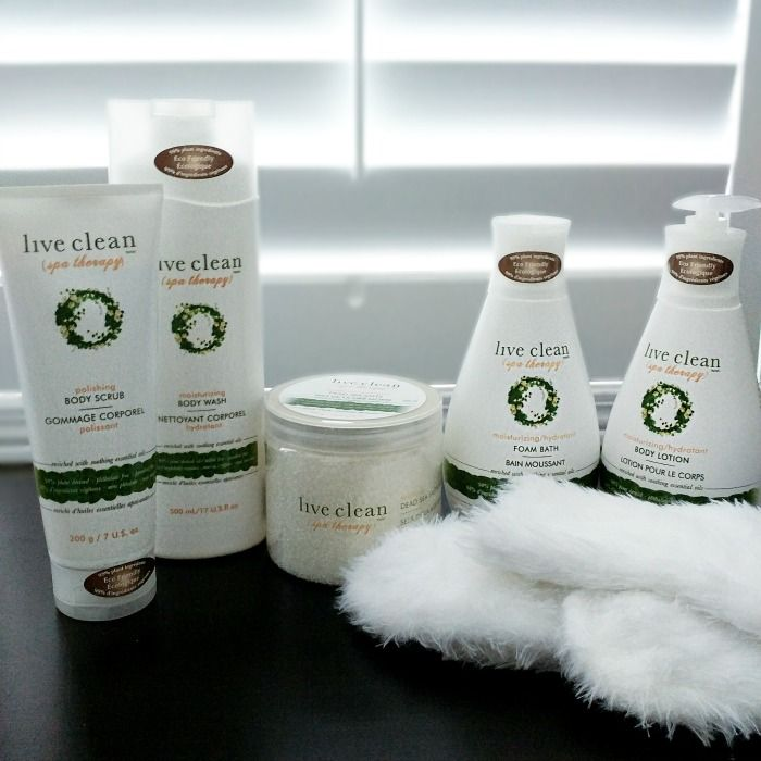 Live Clean Spa Therapy {Giveaway}