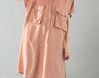 zomer asymmetrische lang shirt / losse Fitting lang shirt /