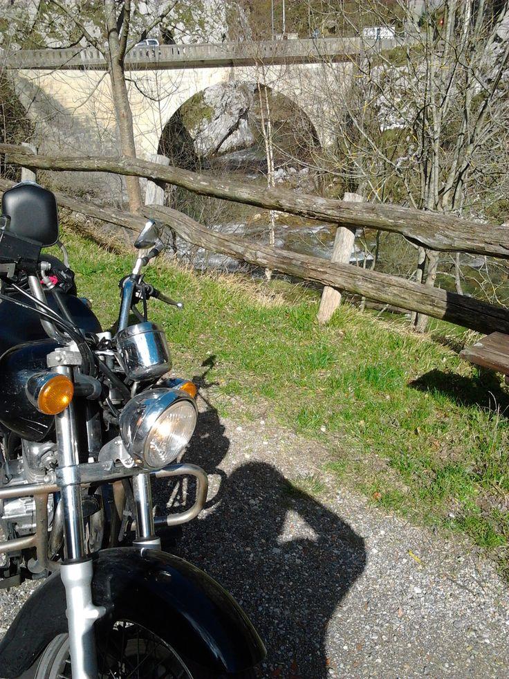 campo caso, asturias, españa, spain, moto #suzuki #marauder