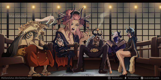 Los piratas Bestias de Kaido es la tripulación más organizada de One Piece .