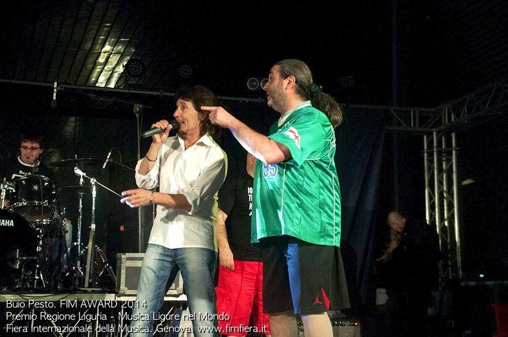 Buio Pesto. FIM AWARD 2014 - Premio Regione Liguria - Musica Ligure nel Mondo. Fiera Internazionale della Musica. Genova, 16/17/18 Maggio 2014. www.fimfiera.it