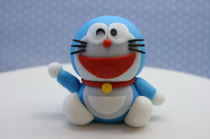 Beautiful Kitchen: Doraemon Inspired Cake Topper