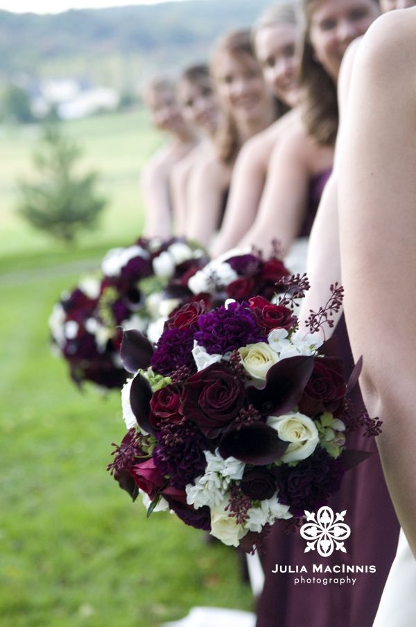 Find This Pin And More On Purple Fall Wedding Flowers