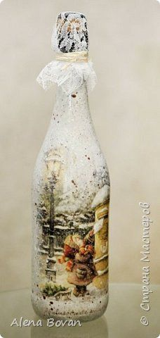 ДЕКУПАЖ  бутылочки новые и старые... фото 128