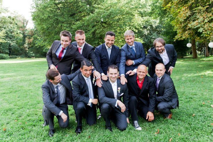Schloß Kartzow lustige Hochzeitsfotos