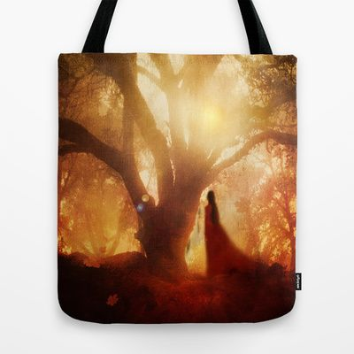 Autumn Song.. Tote Bag by Viviana Gonzalez - $22.00