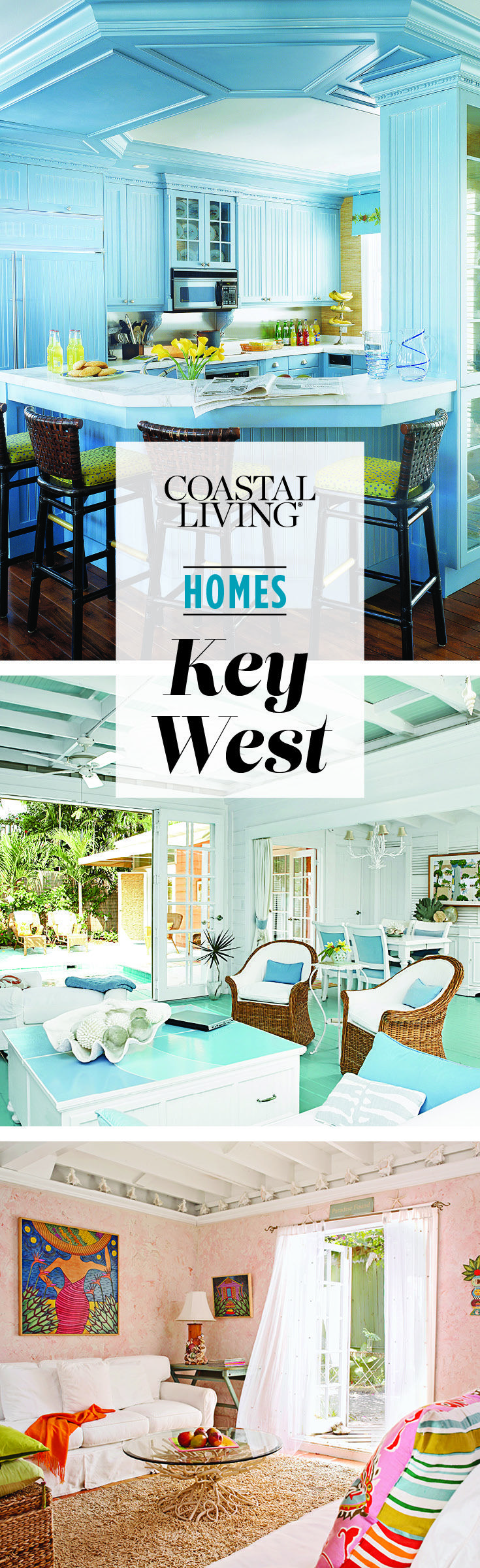 Get that laid-back, Florida look with inspiration from these island homes.