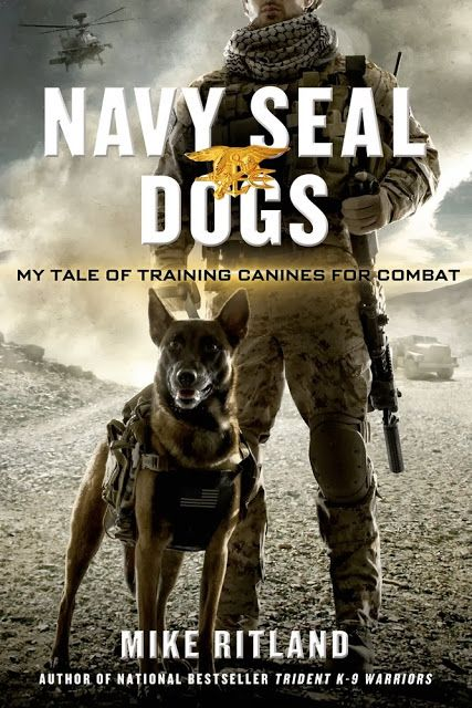 Book review of Navy SEAL Dogs - for younger readers and above,  includes encouraging life lessons, history and military dog training information