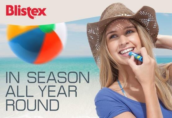 Blistex ürünleri ile yaz'a gülümseyin  www.sezoncode.com'da