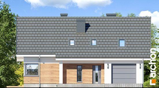 Elewacja frontowa projekt dom w zloci a  264