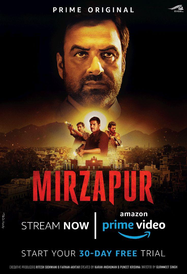 Mirzapur on amazon prime video streaming now ad prime
