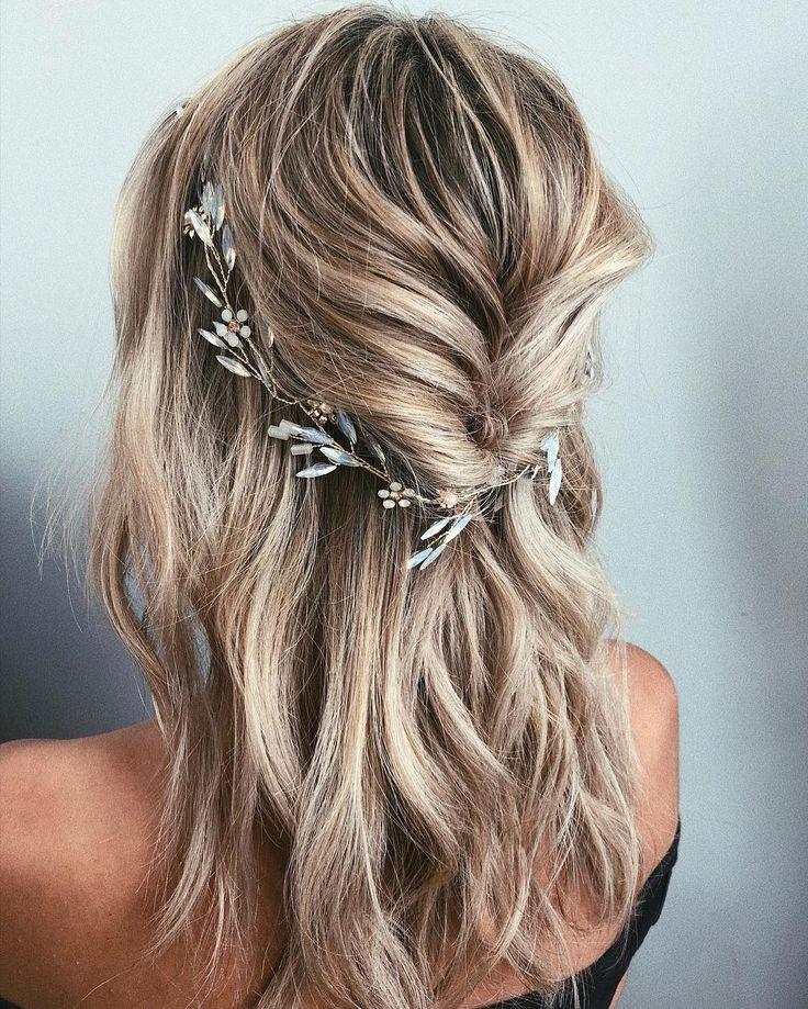 Hochzeit Haar Inspiration: Cara Clyne  #clyne #hochzeit #inspiration