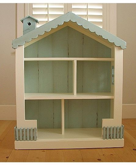 Cottage Dollhouse Bookcase by Bradshaw Kirchofer, Bookshelves, Furniture for Girls