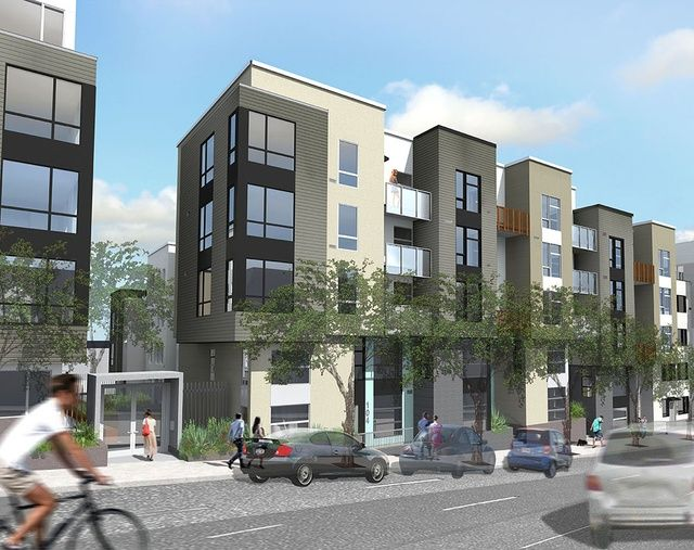 18 best multifamily housing images on pinterest for Multi family architecture