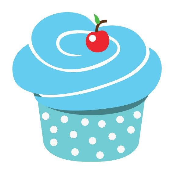 Clipart De Cupcake : Cupcake Clipart cupcake clipart digital clipart by ...