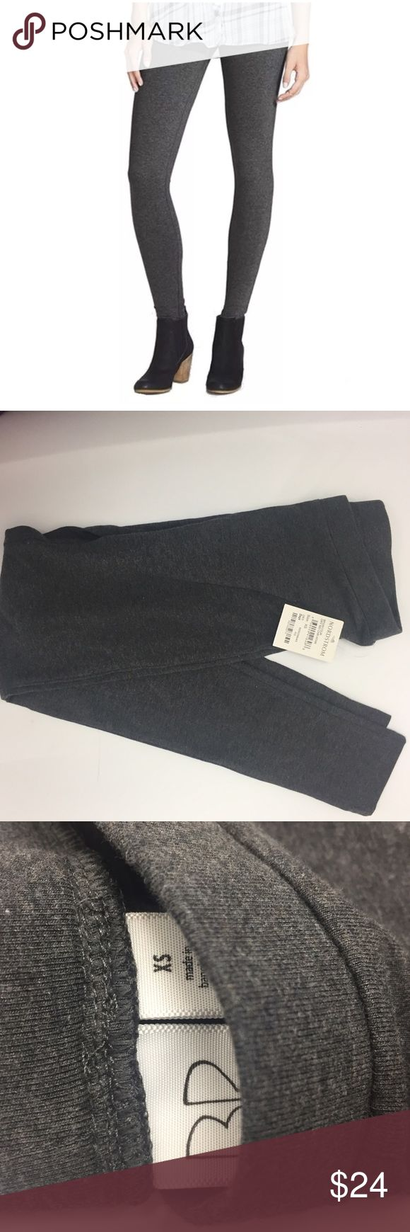 Bp Heather Charcoal Grey Gray Leggings XS Size XS, juniors sizing so probably best for 00-1 Color is Grey Medium Charcoal Heather New I had 2 pairs to sell and sold one but can't find the other. Once I find it I will change to for sale :) Nordstrom Pants Leggings