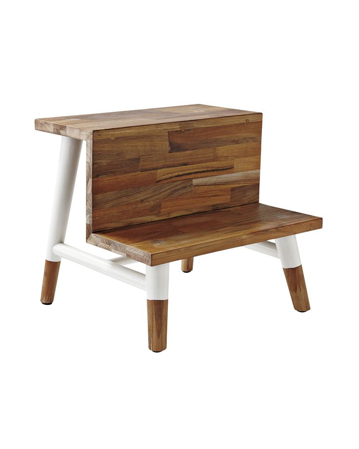 Teak Step StoolTeak Step Stool