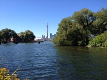 #Summer #Island #Toronto #Skyline #Downtown
