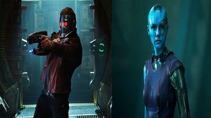 ¡Chequea la transformación de #ChrisPratt en el personaje #StarLord, y la imagen de #Nebula en #GuardianesdelaGalaxia Vol 2