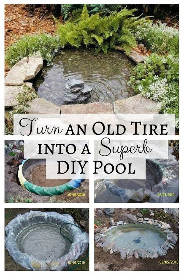 17 Best Ideas About Diy Pond On Pinterest Water Plants Tractor Tire Pond And Diy Container Pond