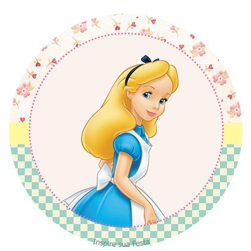Alice no País das Maravilhas – Kit festa grátis para imprimir – Inspire sua Festa ®
